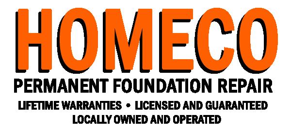 HOMECO Permanent Foundation Repair logo